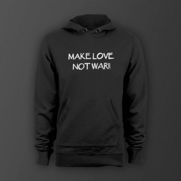 Make love not war! Unisex Kapuzenpullover