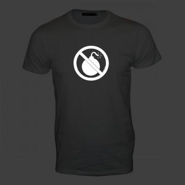 Anti-Bombe Männer T-Shirt